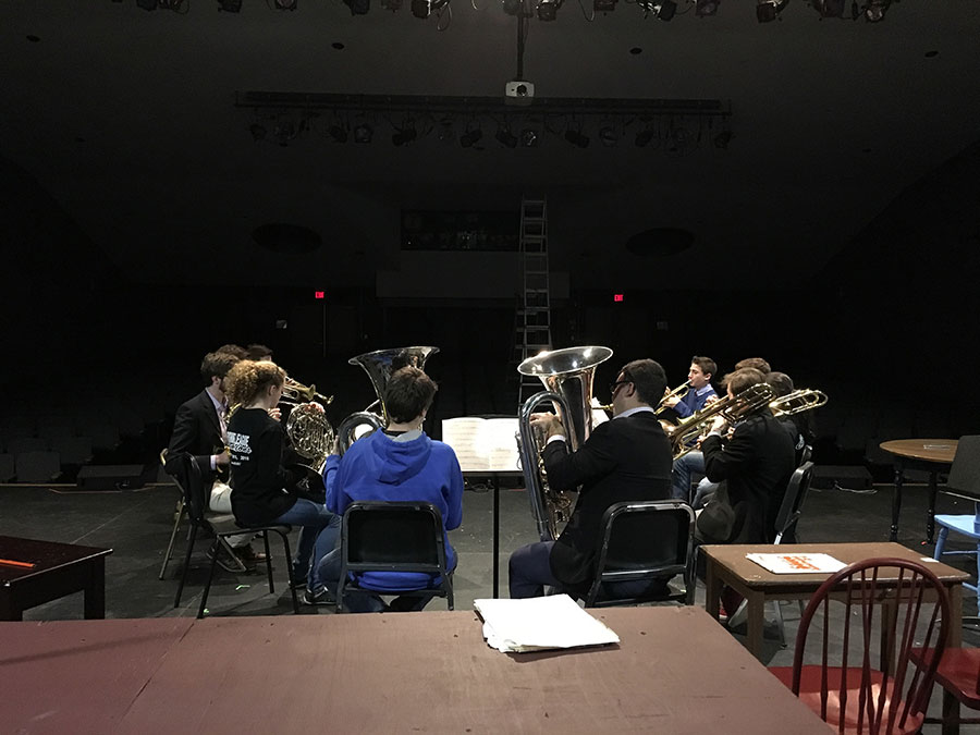 Brass Quintet Sit In, Norfolk, CT