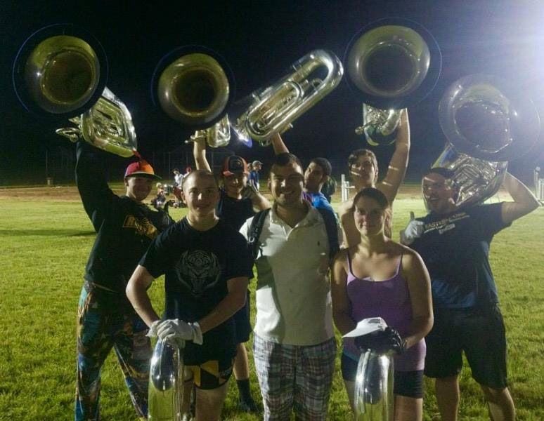 Bushwackers Drum Corps Clinic, Princeton, NJ