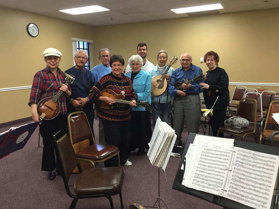 Florida Mandolin Orchestra Sectional