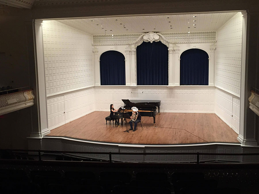 Yale University Master's Recital, 2017