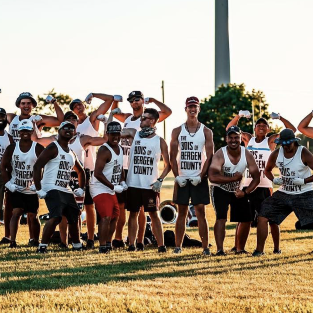 "Cadets 2018 Tuba Section ""Tan-lines and All"""